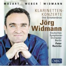 莫札特、韋伯&魏德曼:豎笛協奏曲 (約格.魏德曼, 豎笛) Clarinet Concertos • Jörg Widmann
