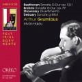 貝多芬、布拉姆斯&德布西:小提琴奏鳴曲 (葛羅米歐, 小提琴 / 海杜, 鋼琴) Beethoven • Johannes Brahms • Claude Debussy Arthur Grumiaux