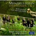 孟德爾頌:第一、四號交響曲 / 魏德曼:小號協奏曲 (魏德曼 / 愛爾蘭室內管弦樂團 / 納卡里亞可夫) Mendelssohn: Symphonies Nos. 1 & 4 (Irish Chamber Orchestra, Jörg Widmann, Sergei Nakariakov)