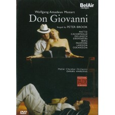 (DVD) 莫札特:唐喬凡尼 Mozart:Don Giovanni (Peter Brook / Daniel Harding)