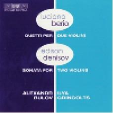 貝里歐:小提琴二重奏、丹尼索夫:小提琴二重奏鳴曲 Berio:Duetti、Denisov:Sonata