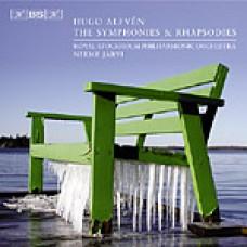 雨果.愛爾芬:交響曲與狂想曲全集 Alfven:The Symphonies & Rgapsodies