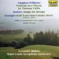 佛漢.威廉士:泰利斯主題幻想曲、巴伯:弦樂的慢板、佛瑞:巴望舞曲 Vaughan Williams、Baber、Grainger、Faure、Satie