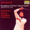 貝多芬:第5號交響曲「命運」、艾格蒙序曲 (小澤征爾, 波士頓交響樂團) Beethoven:Symphony No.5  (Seiji Ozawa, Boston Symphony Orchestra)