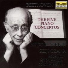 貝多芬:鋼琴協奏曲全集 (小澤征爾, 波士頓交響樂團, 塞爾金) Beethoven:Piano Concertos Nos. 1-5 (complete) (Seiji Ozawa, Boston Symphony Orchestra, Rudolf Serkin)