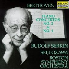 貝多芬:第2、4號鋼琴協奏曲 (塞爾金, 小澤征爾, 波士頓交響樂團) Beethoven:Piano Concertos No.2 & 4 (Serkin, Ozawa, Boston Symphony Orchestra)