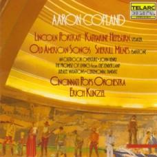 柯普蘭:林肯的肖相/古老美國歌謠選曲 Aron Copland Lincoin Portrait & other works
