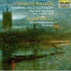 佛漢.威廉士:第二號交響曲《倫敦》《雲雀飛翔》 Vaughan Williams: Symphony No. 2 . The Lark Ascending - Previn / Royal Philharmonic Orchestra