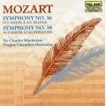 莫札特:第36號交響曲《林玆》第38號交響曲《布拉格》 Mozart:Symphony No. 36 《Linz 》