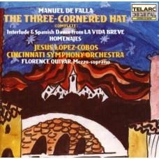 法雅:《三角帽》 Falla: The Three-Cornered Hat / Homenajas / La Vida Breve