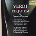 威爾第:安魂曲/歌劇合唱曲 Verdi: Requiem And Operatic Choruses / Shaw, Robert (2CD)