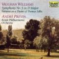 佛漢.威廉士:《第5號交響曲》/《塔利斯主題幻想曲》 Vaughan Williams: Symphony No.5 . Tallis Fantasia / Andre Previn . Royal Philharmonic Orchestra