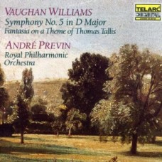 佛漢.威廉士:《第5號交響曲》/《塔利斯主題幻想曲》 Vaughan Williams: Symphony No.5 . Tallis Fantasia / Andre Previn . Royal Philharmonic Orchestra