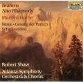 布拉姆斯:狂想曲∕命運的女神之歌∕悲傷之歌∕命運之歌 Johannes Brahms