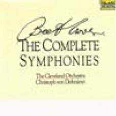 貝多芬:交響曲全集/克里斯多夫.封.杜南伊 指揮 克里夫蘭管弦樂團(5CD)