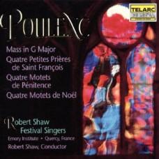 浦朗克:G大調彌撒曲 / 四首聖誕經文歌 Poulenc: Mass in G Major / Motets for Christmas and Lent