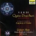 威爾第:四個神聖作品 . 史特拉汶斯基:聖詩交響曲 Verdi: Four sacred Pieces . Stravinsky: Symphony of Psalms