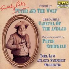 普羅高菲夫:狡滑的彼德與狼∕聖桑:動物狂歡節  Schickele-Prokofiev : Sneaky Pete And Wolf