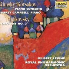林姆斯基-高沙可夫:鋼琴協奏曲│柴可夫斯基:第三號交響曲 Rimsky-Korsakov:Piano Concerto│Tchaikovsky:Symphony No.3