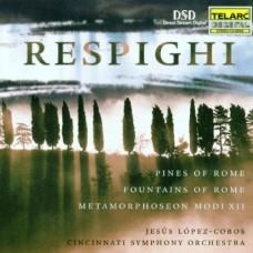 雷斯比基:羅馬之松、羅馬之泉與管弦樂主題與變奏  Respighi: Pines of Rome, Fountains of Rome, Metamorphoseon
