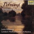 恩斯特.封.杜南伊:第一號交響曲  Dohnanyi: Symphony No. 1 in D Minor