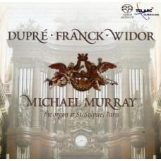 杜普瑞/法朗克/魏道爾:管風琴作品集  Michael Murray: Dupre . Franck . Widor