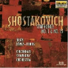 蕭士塔柯維契《F小調第一號交響曲》《A大調第十五號交響曲》  Shostakovich:symhonies no.1and no.15 Lopez-cobos / cincinnati symphony orchestra
