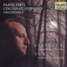 西貝流士:《D大調第2號交響曲》/杜賓:《B小調第5號交響曲》  Sibelius: Symphony No. 2 in D Major . Tubin: Symphony No. 5 in B Minor