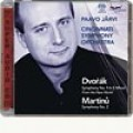 德弗札克:《第9號交響曲(新世界)》/馬替奴:《第2號交響曲》  Dvorak: Symphony No. 9 / Martinu: Symphony No. 2 - Jarvi / Cincinnati Symphony Orchestra