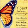 莫札特:兩首長笛協奏曲、第41號交響曲《朱彼得》(波士頓巴洛克合奏團 / 馬丁.帕爾曼 / 賈奎斯.榮恩, 長笛) Mozart:Flute Concertos、Jupiter Symphony (Jacques Zoon, flute / Boston Baroque / Martin Pearlman)