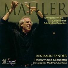 馬勒:《第一號交響曲》/《旅人之歌》  Mahler: Lieder Eines Fahrenden Gesellen / Symphony No. 1 - Zander / Philharmonia Orchestra
