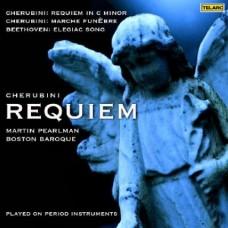 凱魯碧尼:《C小調安魂曲》/《葬禮進行曲》;貝多芬:《哀歌》  Cherubini; Requiem/ Martin pearlman/ Boston Baroque