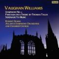 佛漢.威廉士:《第五號交響曲》/《泰利斯主題幻想曲》/《獻給音樂的小夜曲》  Vaughan Williams: :Symphony No. 5, Fantasia on a Theme by Thomas Tallis, Serenade to Music / Robert Spano