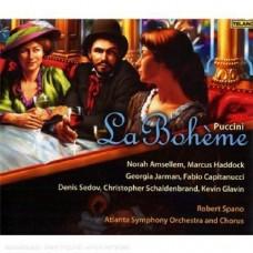 普契尼:歌劇「波西米亞人」   Puccini: La Boheme / Spano / Atlanta Symphony Orchestra and Chorus
