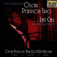 最後的拜訪-奧斯卡.彼德森三重奏 Oscar Peterson. Last Call at the Blue Note