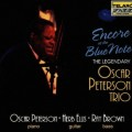 藍調俱樂部的安可Oscar Peterson Trio.Encore At The Blue Note Peterson/Elis/Brown/Durham