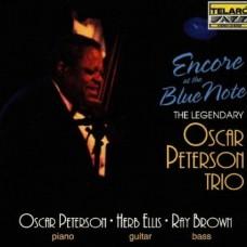 藍調俱樂部的安可Oscar Peterson Trio.Encore At The Blue Note Peterson/Elis/Brown/Durham