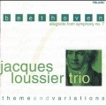 貝多芬:《第7號交響曲》小快板,主題與變奏Jacques Loussier Trio:Beethoven - Allegretto From Symphony No.7, Theme & Variations