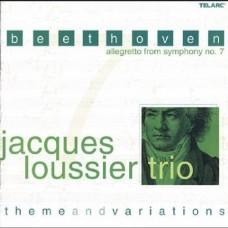 貝多芬:《第7號交響曲》小快板,主題與變奏Jacques Loussier Trio:Beethoven - Allegretto From Symphony No.7, Theme & Variations