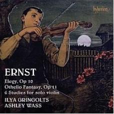來自帕格尼尼的光輝傳承 ~ 恩斯特:小提琴炫技作品集 Ernst:Violin Music