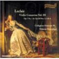 萊克雷爾:小提琴協奏曲之三Leclair:Violin Concertos Vol.III-Standage/Collegium Musicum90
