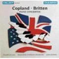 柯普蘭、布瑞頓鋼琴協奏曲Copland / Britten: Piano Concertos - Lin / Melbourne SO.