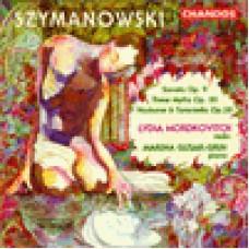 齊瑪諾夫斯基:《小提琴奏鳴曲,Op.9》/《三首神話故事,Op.30》/《夜曲與塔朗泰拉舞曲 Tarantella ,Op.28》Szymanowski: Three Myths etc./  Lydia Mordkovitch, violin