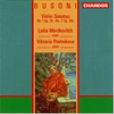 布梭尼:《第1號小提琴奏鳴曲,Op.29》/《第2號小提琴奏鳴曲,Op.36a》Busoni: Violin Sonatas 1 & 2 /  Lydia Mordkovitch, violin