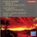 巴伯:第1號交響曲/「醜聞學校」序曲  畢琦:E小調交響曲 Barber First Symphony/ Beach Symphony in e minor