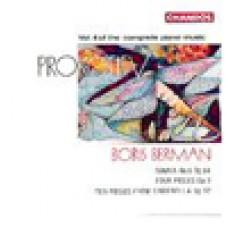 普羅高菲夫:鋼琴作品集(4) Prokofiev: Piano Music Vol.4 - Boris Berman
