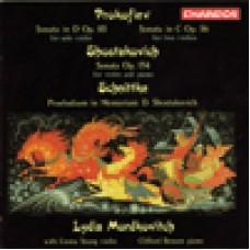 小提琴作品集 普羅高菲夫∕舒尼特克∕蕭士塔柯維契 Prokofiev/ Schnittke/ Shostakovich: Violin Sonatas etc/  Lydia Mordkovitch, violin