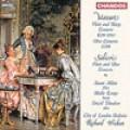 莫札特:長笛與豎琴協奏曲、雙簧管協奏曲、薩里耶瑞:長笛與雙簧管協奏曲