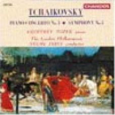 柴可夫斯基:第3號鋼琴協奏曲第7號交響曲/ Tchaikovsky: Piano Concerto No.3 / Symphony No.7 - Tozer / The London Philharmonic . Neeme Jarvi