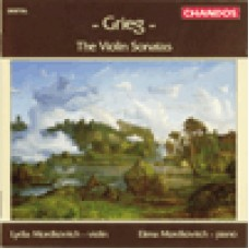 葛利格:小提琴奏鳴曲 Grieg: The Violin Sonatas/ Lydia Mordkovitch, violin